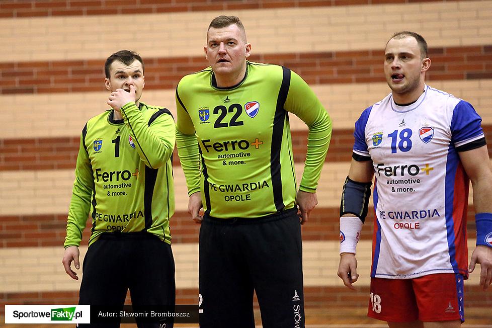 MTS Chrzanów - PE Gwardia Opole 28:34