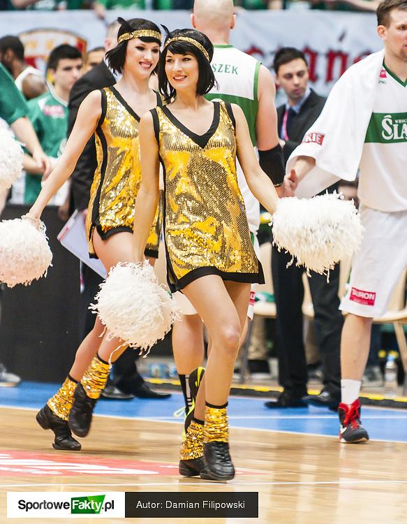 Cheerleaders Wrocław na WKS Śląsk Wrocław - PGE Turów Zgorzelec