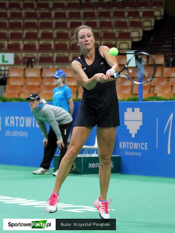 Kwalifikacje Katowice Open: Ana Bogdan - Katarzyna Kawa 2:6, 6:2, 6:0
