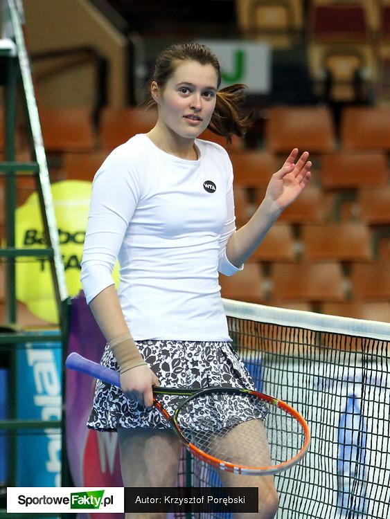 Kwalifikacje Katowice Open: Oliwia Szymczuch - Akgul Amanmuradova 4:3 i krecz