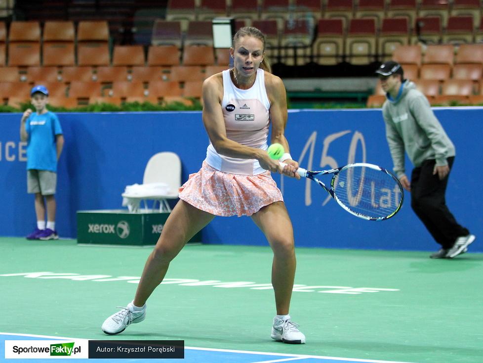 Kwalifikacje Katowice Open: Magda Linette - Ludmiła Kiczenok 6:1, 4:0 i krecz