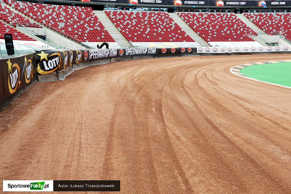 Stadion Narodowy gotowy na LOTTO FIM Warsaw Speedway Grand Prix Polski