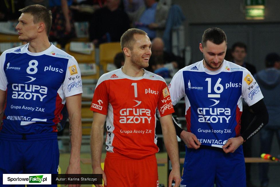 Transfer Bydgoszcz - ZAKSA Kędzierzyn-Koźle 3:0