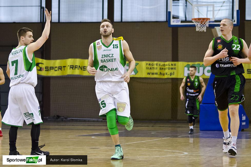 Znicz Basket Pruszków - Miasto Szkła Krosno 65:77