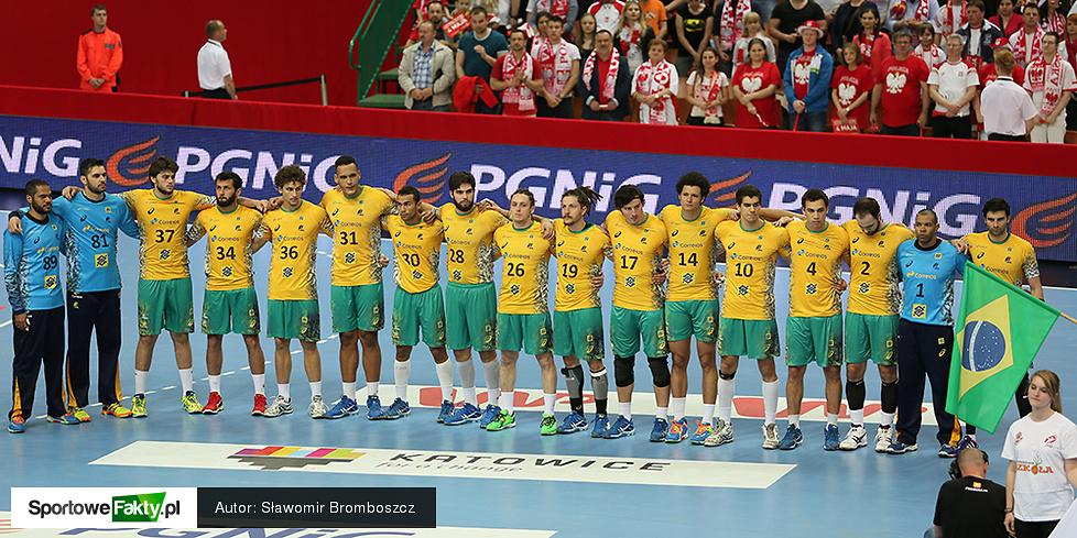 Turniej majowy: Polska - Brazylia 24:25