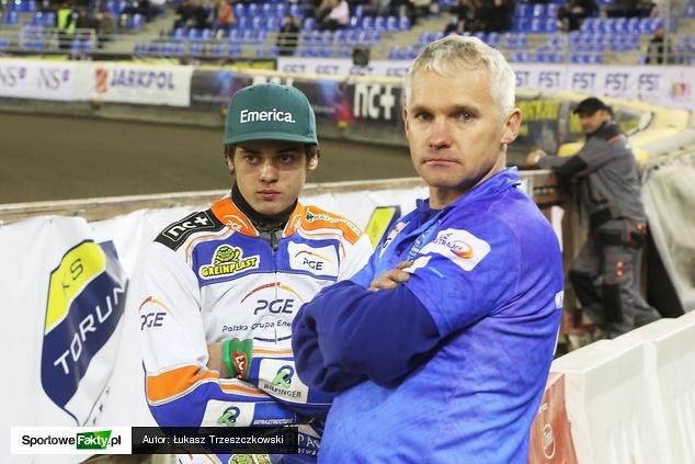 Jacek Rempała ze synem Krystianem