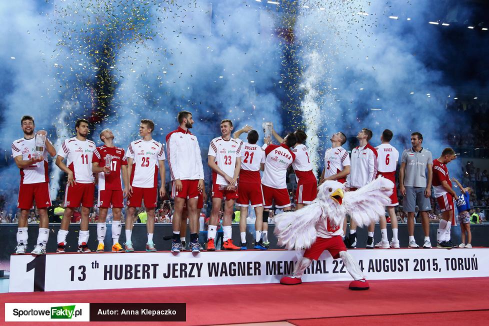 Dekoracja XIII Memoriału Huberta Jerzego Wagnera 2015