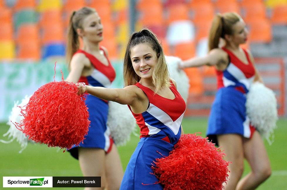 Cheerleaders w Bielsku-Białej