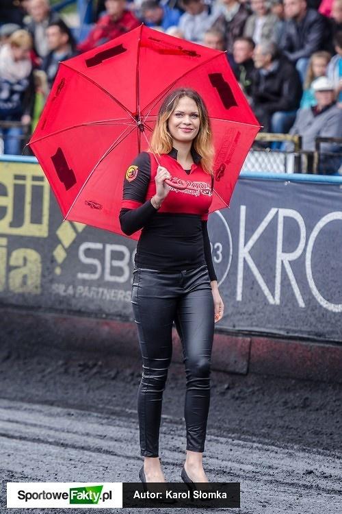 Podprowadzające podczas półfinałów polskich lig żużlowych + GP Challenge