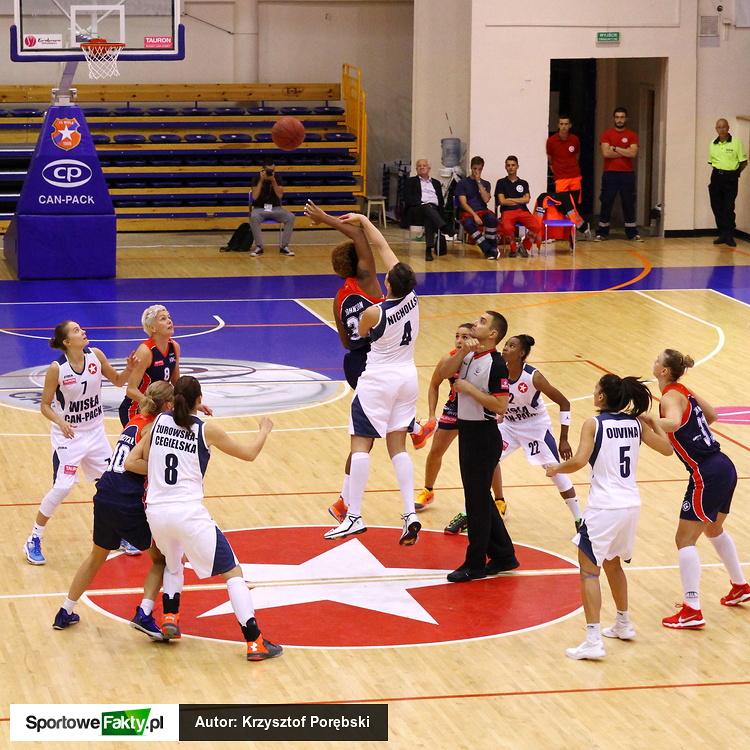 Wisła Can-Pack Kraków - Basket Gdynia 84:49