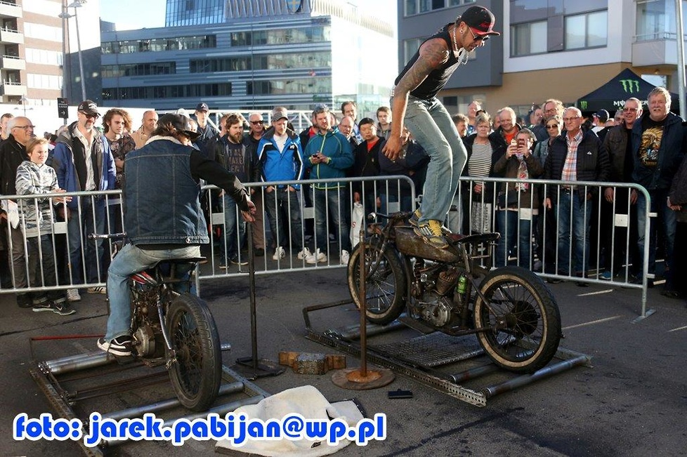 Fan Zone przed Grand Prix Sztokholmu