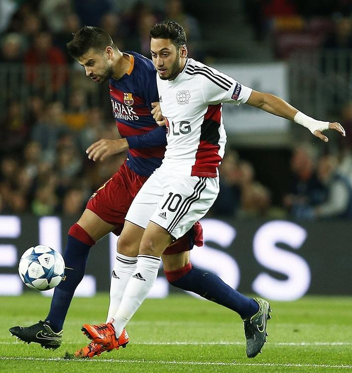 Zdjęcia z meczu FC Barcelona - Bayer Leverkusen