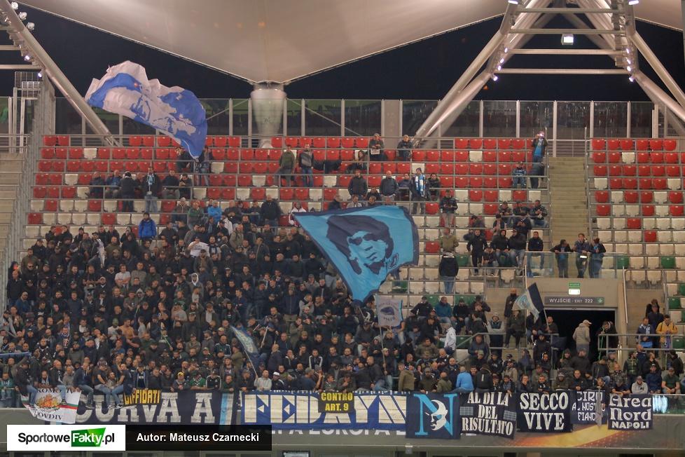 Legia Warszawa - SSC Napoli 0:2