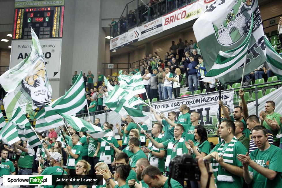 Stelmet BC Zielona Góra - Żalgiris Kowno 62:66