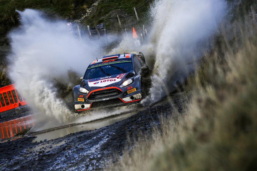 Finał sezonu WRC w Walii