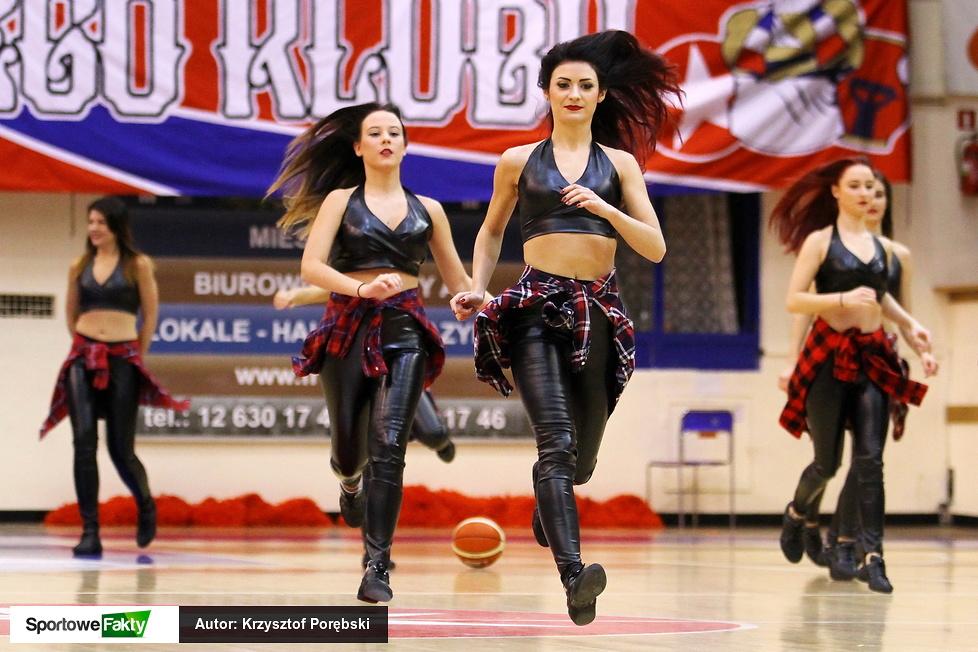 Trinity Cheerleaders na euroligowym meczu Wisła Can Pack Kraków - AGU Spor (galeria)