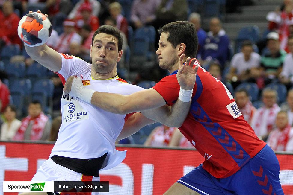 EHF EURO: Macedonia - Serbia 27:27 (galeria)