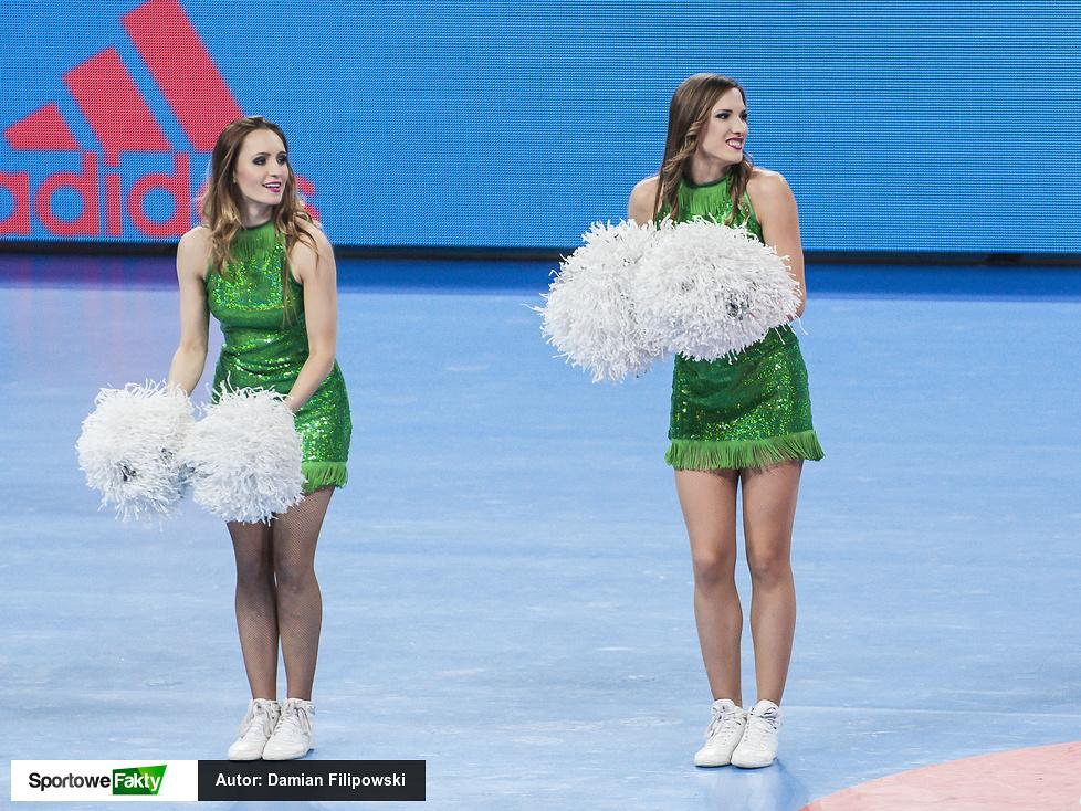 Cheerleaders Wrocław podczas środowych meczów ME (galeria)