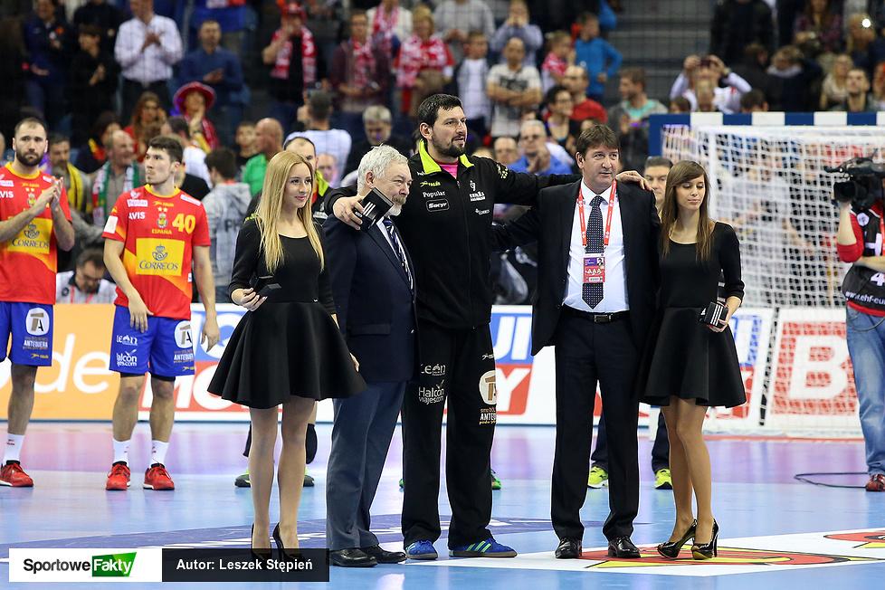 EHF EURO: Ceremonia medalowa (galeria)