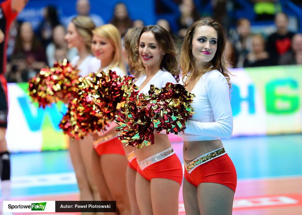 Cheerleaders Wrocław podczas Pucharu Polski (galeria)
