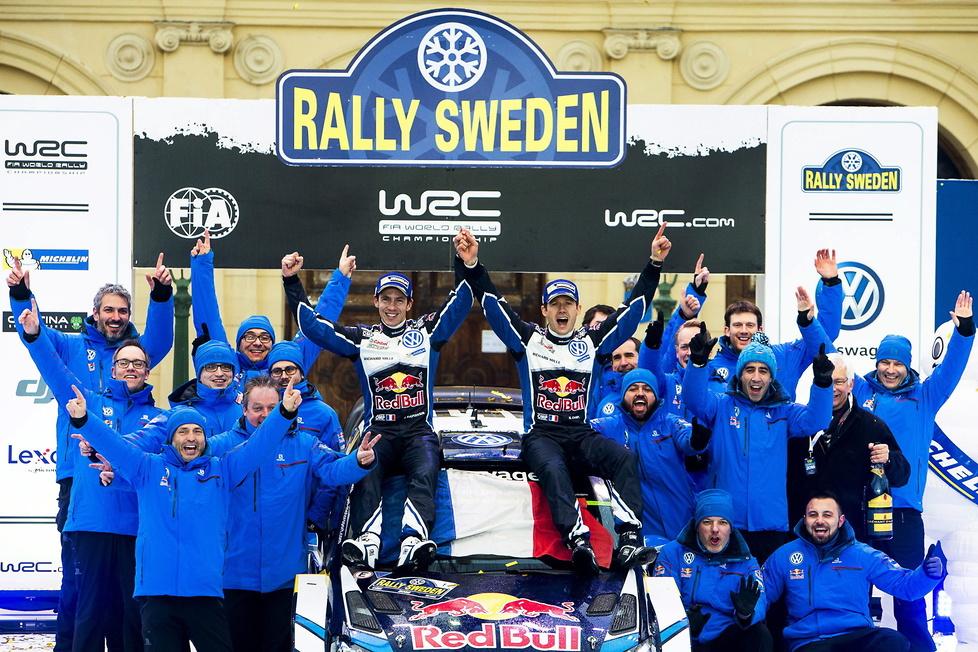 Rajd Szwecji: Ogier znów najlepszy (galeria)