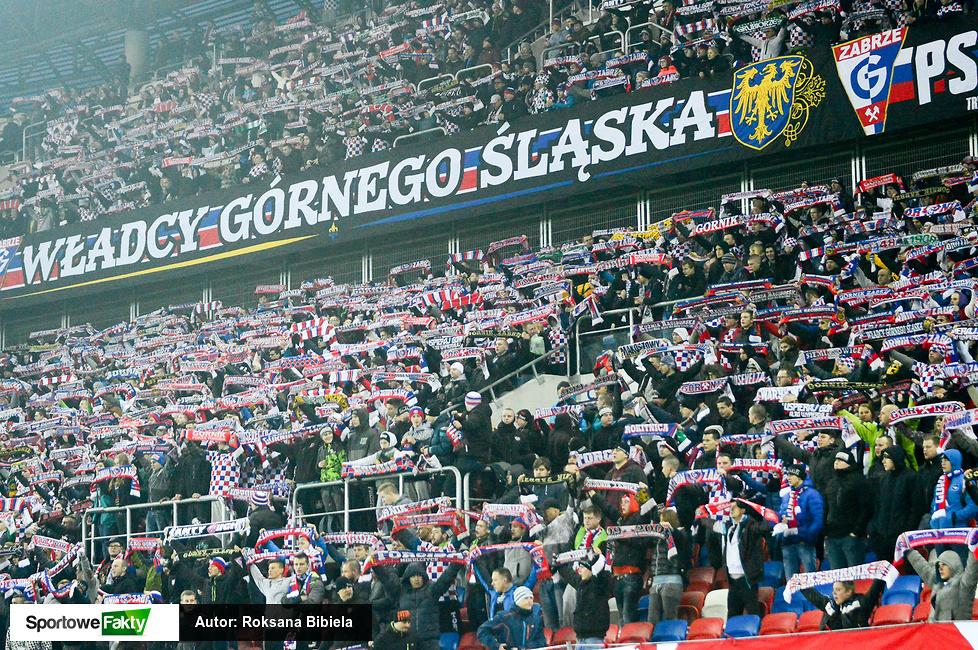 Kibice na meczu Górnik Zabrze - Lechia Gdańsk (galeria)