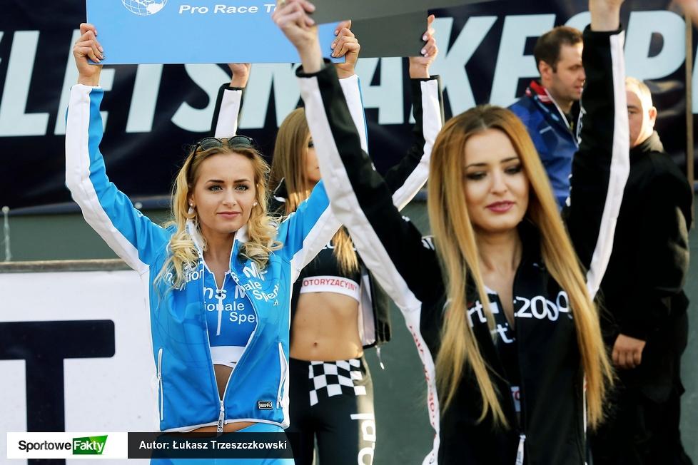 Podprowadzające podczas I rundy Speedway Best Pairs w Toruniu (galeria)