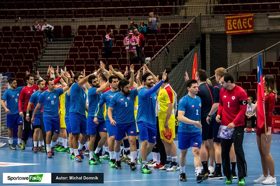 Kw. do igrzysk w Gdańsku:Macedonia - Chile 30:27(galeria)
