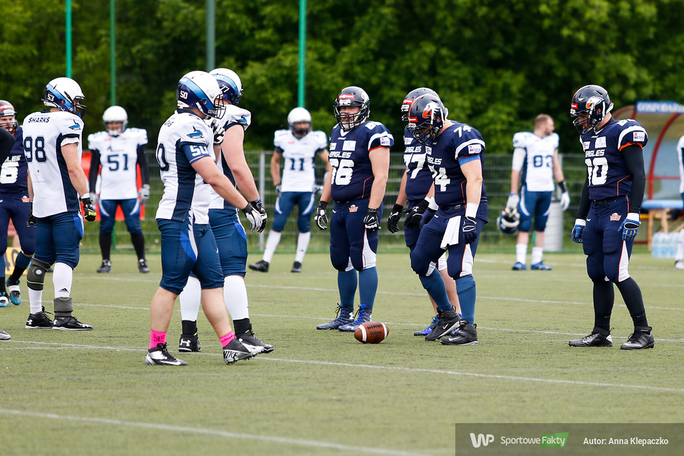 Warsaw Eagles - Warsaw Sharks 52:14 (galeria)
