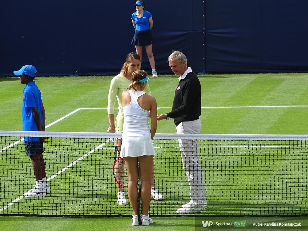 WTA Birmingham: Magda Linette - Andrea Petković: 0:2 (galeria)