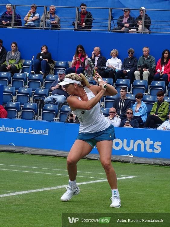 WTA Birmingham: Agnieszka Radwańska - Coco Vandeweghe: 1:2 (galeria)