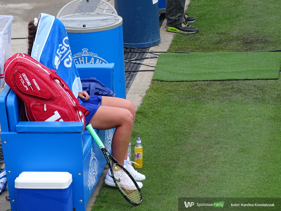 WTA Birmingham: Petra Kvitova - Jelena Ostapenko 1:2 (galeria)