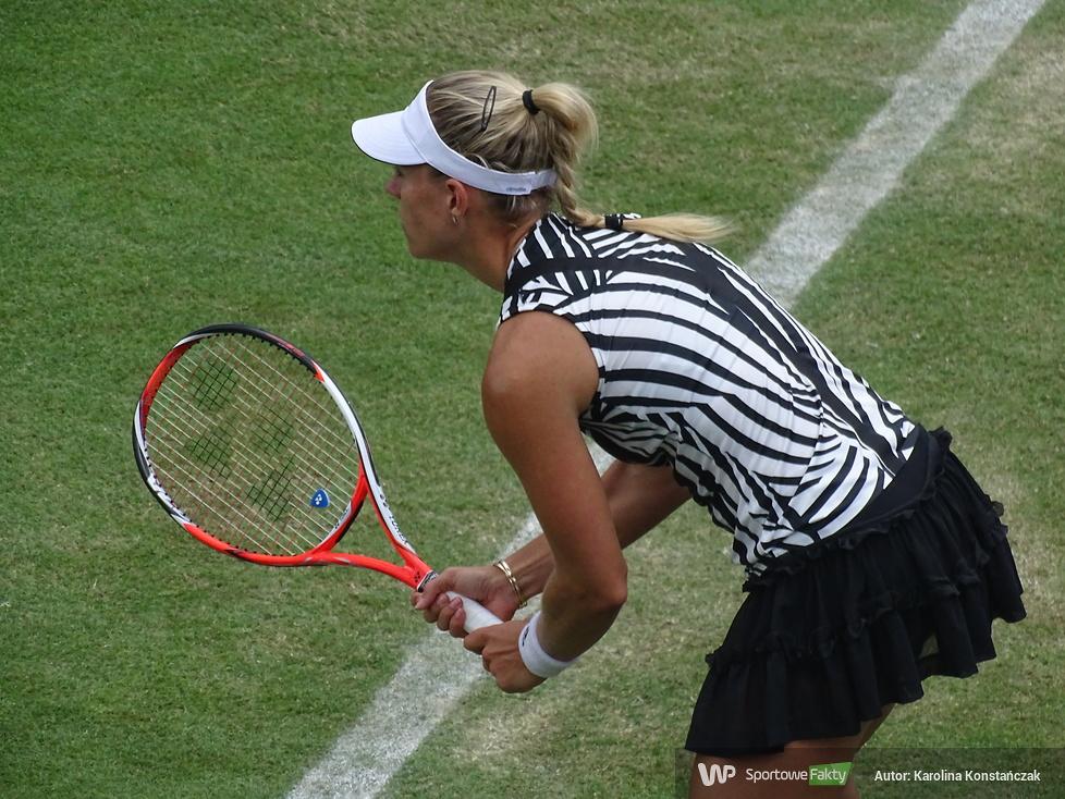 WTA Birmingham: Andżelika Kerber - Carla Suarez: 1:2 (galeria)