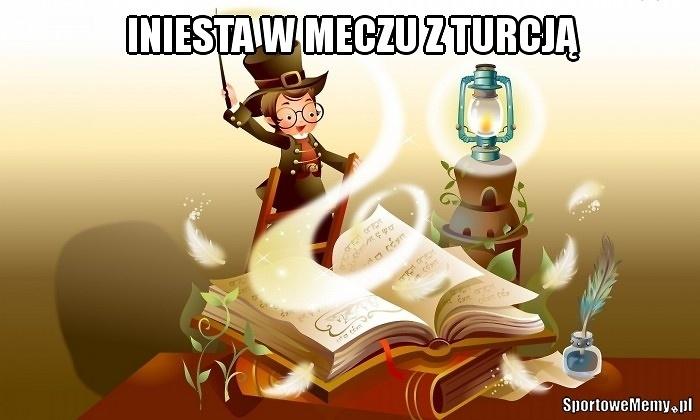Iniesta zaczarował Turków. Zobacz memy po wysokim zwycięstwie Hiszpanii