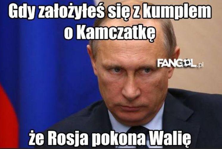 Zasmucony Putin, bohater Bale. Najlepsze memy po odpadnięciu Rosji z Euro