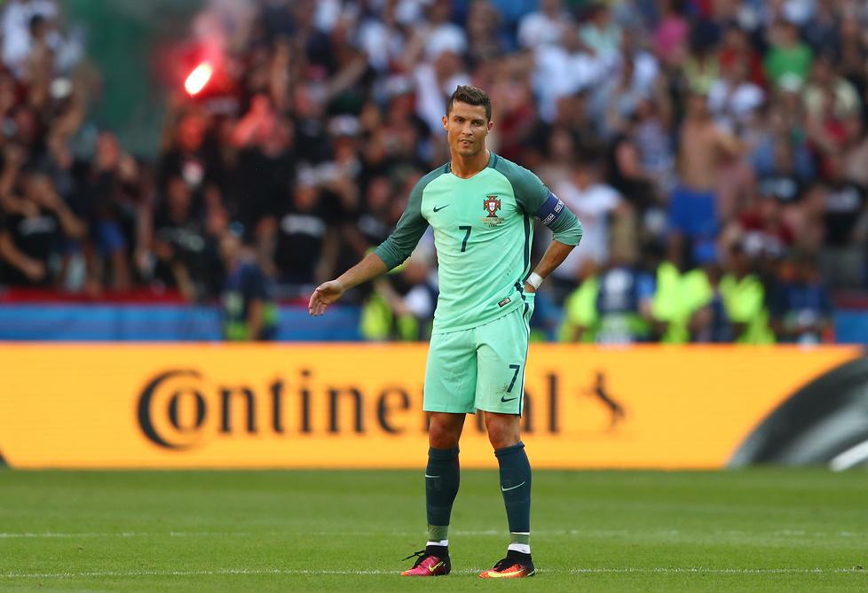 Wybuchy złości Cristiano Ronaldo (galeria)