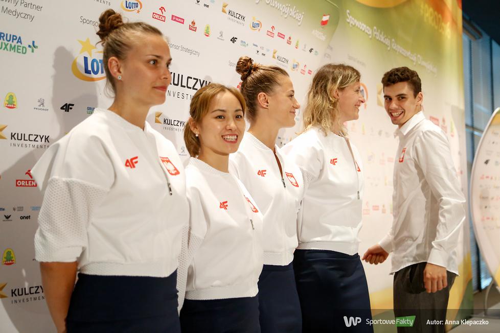 Rio 2016: Ślubowanie tenisistów stołowych przed Igrzyskami Olimpijskimi (galeria)