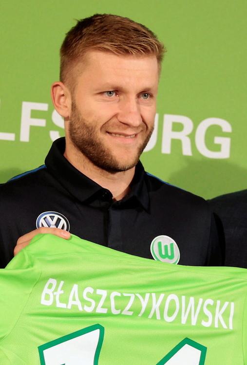 Jakub Błaszczykowski zaprezentowany w Wolfsburgu (galeria)