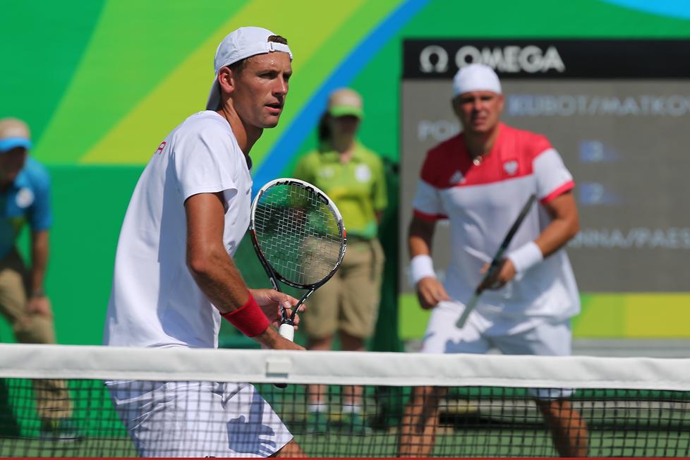 Rio 2016: Łukasz Kubot i Marcin Matkowski w drugiej rundzie debla (galeria)