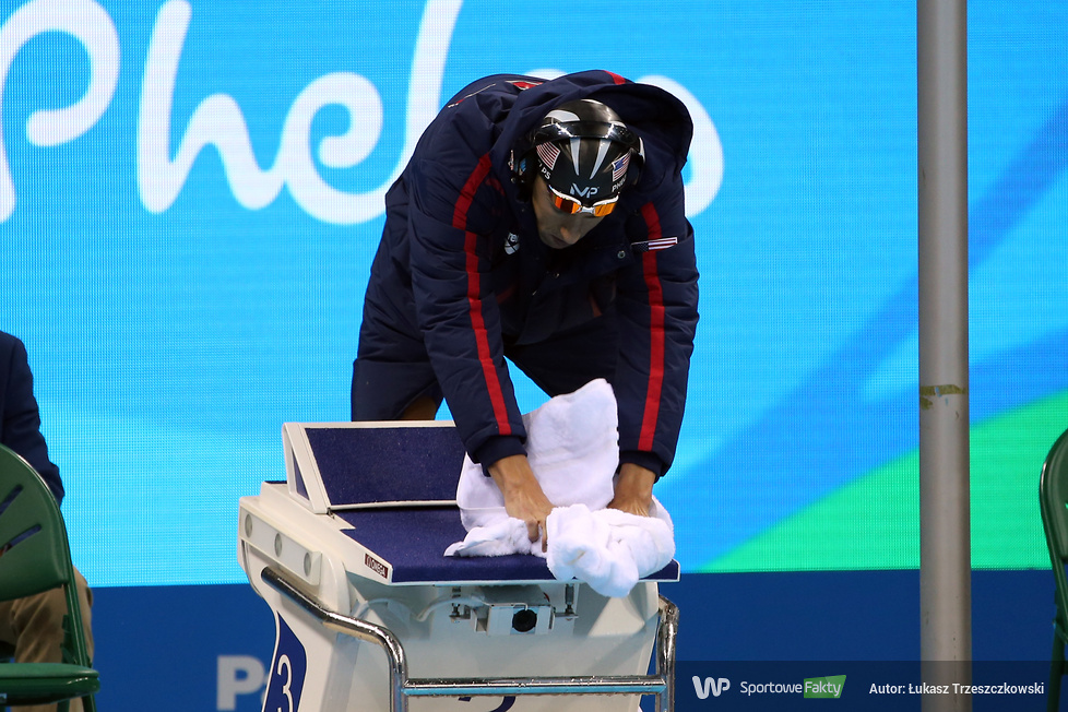 Rio 2016: multimedalista Michael Phelps w finale 200m stylem motylkowym