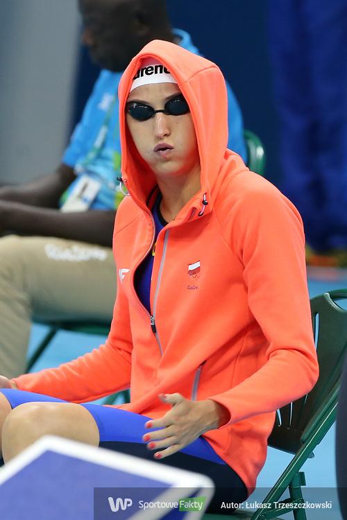 Rio 2016: nieudane eliminacje pływaków Katarzyny Wilk i Radosława Kawęckiego (galeria)