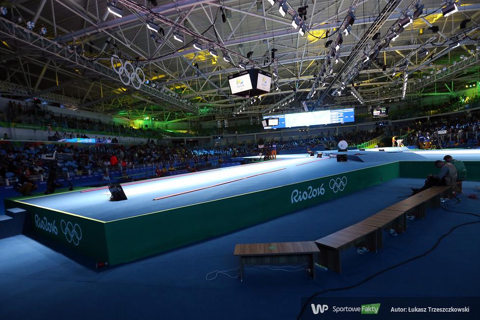 Rio 2016: porażka Hanny Łyczbińskiej z aktualną mistrzyniąolimpijską w 1/8 finału turnieju florecistek (galeria)
