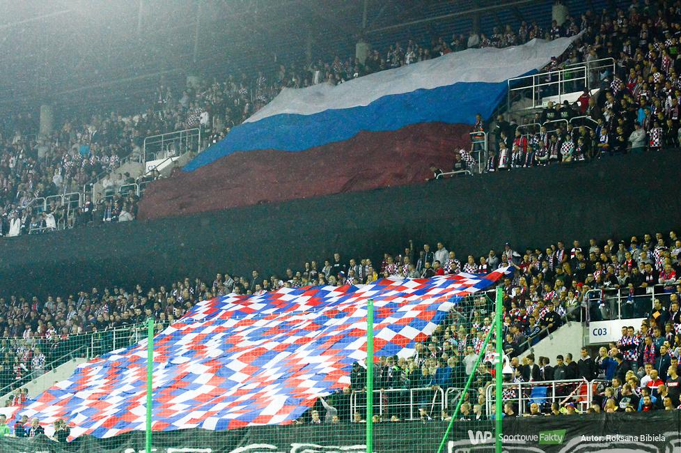 Kibice na meczu Górnik Zabrze - Legia Warszawa (galeria)
