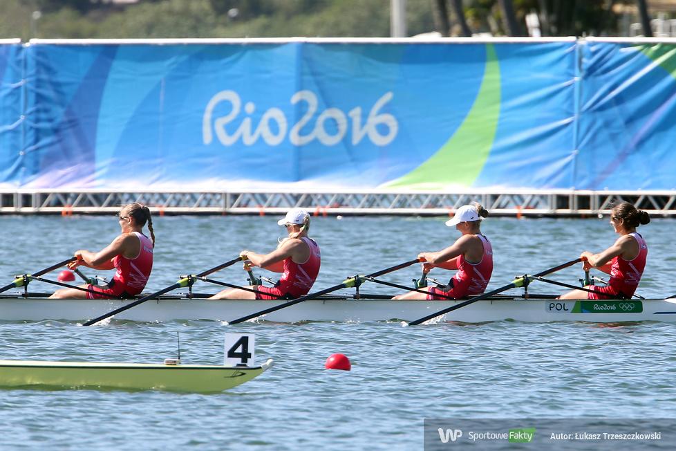 Rio 2016: czwórka podwójna kobiet z brązowym medalem olimpijskim (galeria)