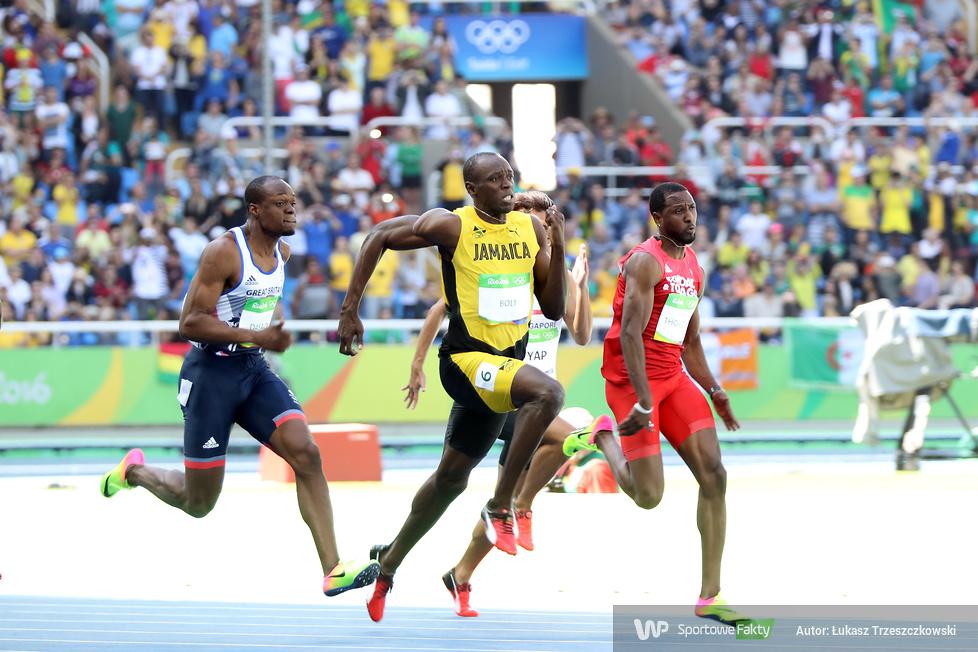 RIO 2016: Usain Bolt odebrał złoty medal olimpijski za bieg na 100m (galeria)