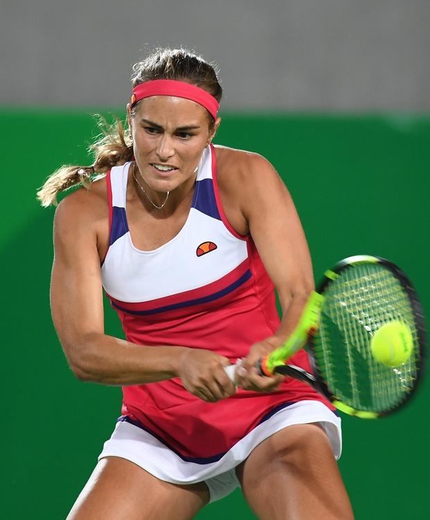 Rewelacyjna Monica Puig zwyciężyła Andżelikę Kerber w finale turnieju olimpijskiego (galeria)