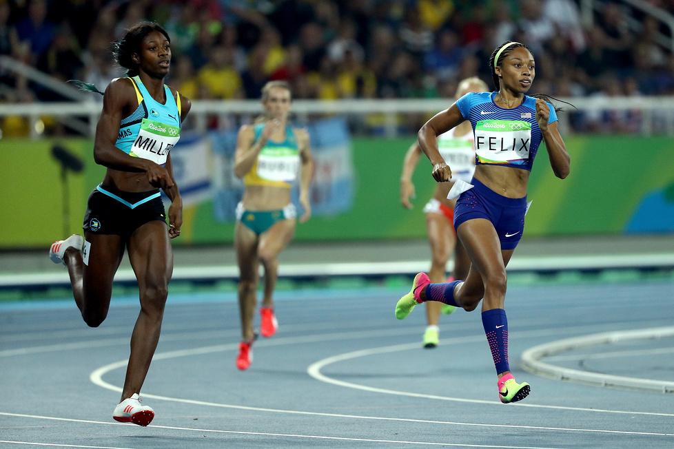 Rio 2016: niesamowity finisz Shaunae Miller (galeria)