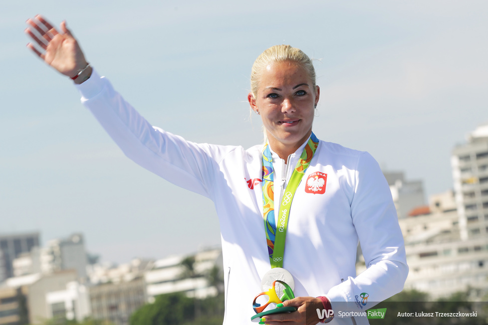 Rio 2016: srebrny medal olimpijski Marty Walczykiewicz (galeria)