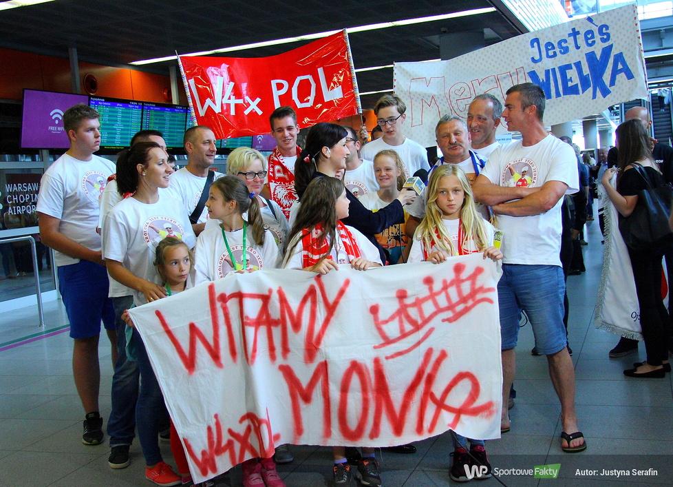 Polskie złote i brązowe wioślarki z Igrzysk Olimpijskich w Rio 2016 powróciły do kraju (galeria)