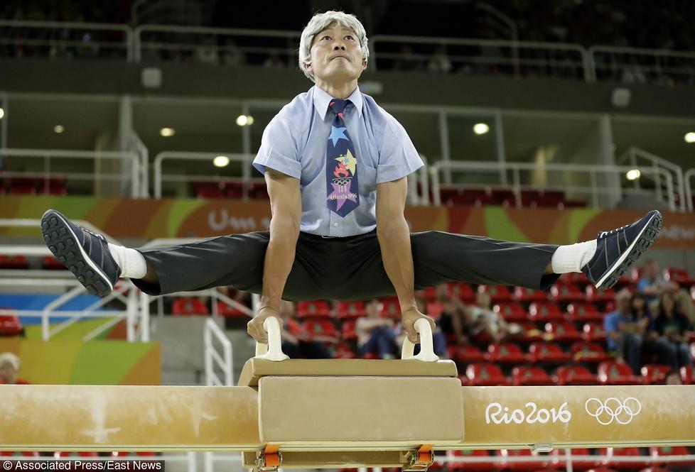 Rio 2016: przebrał się za dziadka i dał show. Były mistrz olimpijski nabrał wszystkich